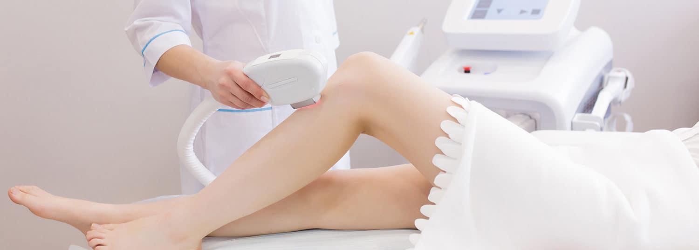 Kosmetik Laserbehandlung zur dauerhaften Haarentfernung in dem Kosmetikstudio Kosmegi in Mainz