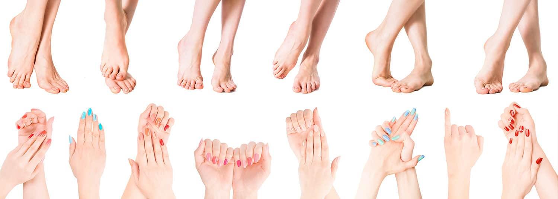 Fußpflege und Handpflege Kosmetikbehandlung Nägel Nagellack Kosmetikstudio Kosmegi
